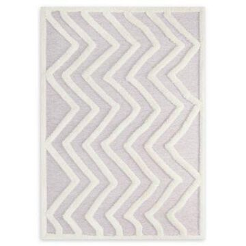 Modway Pathway 8' x 10' Shag Flat-Weave Area Rug in Chevron