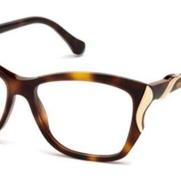 Roberto Cavalli RC 5056 FOSCIANDORA 052 Womenas Glasses Tortoiseshell Size 53 - Free Lenses - HSA/FSA Insurance - Blue Light Block Available