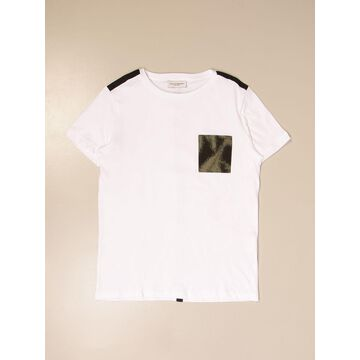Paolo Pecora cotton T-shirt with pocket
