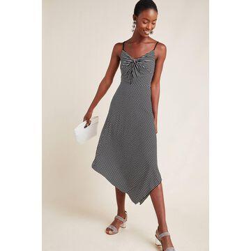 Clarissa Striped Midi Dress