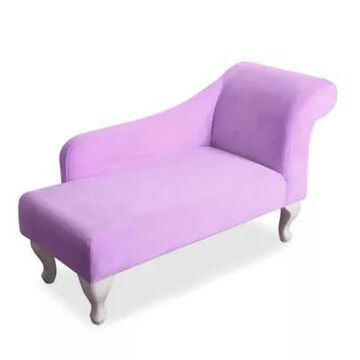HomePop Kids Chaise Lounge In Lavender