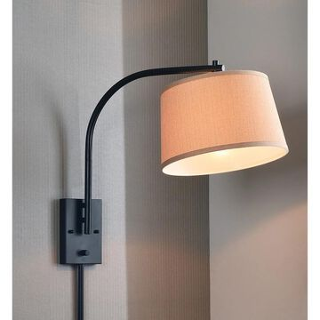Design Craft Hackett 21-inch Wall Swing Arm Lamp