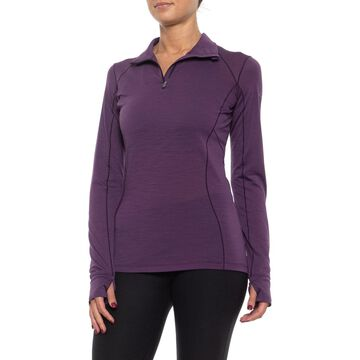 Icebreaker Sport 150 Shirt - Merino Wool, Zip Neck, Long Sleeve (For Women)