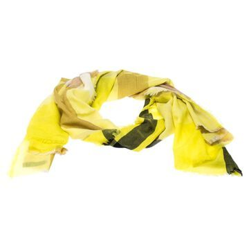 Burberry Yellow Cashmere Scarves