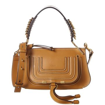 Chloe Marcie Baguette Small Leather Shoulder Bag
