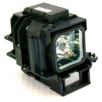 NEC VT75LPE Projector Housing with Genuine Original OEM Bulb