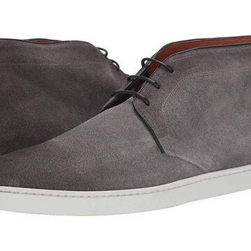 Santoni Leland Lace-Up Ankle Sneaker Men's Shoes