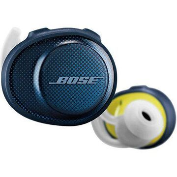Bose SoundSport Free Wireless In-Ear Headphones (Navy/Citron) 774373-0020