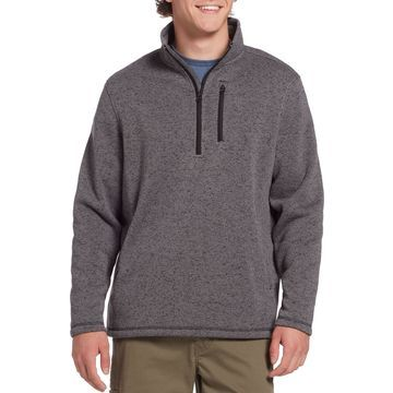 Field & Stream Men's Sweater Fleece Quarter Zip Pullover (Regular and Big & Tall)