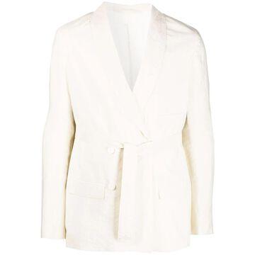 belted blazer jacket