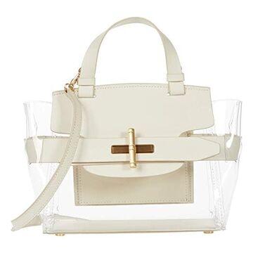 ZAC Zac Posen Brigitte Belted Satchel - Glass Handbags