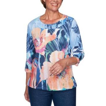 Alfred Dunner Road Trip Textured Top