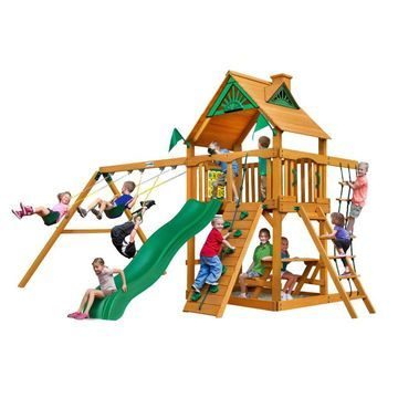 Gorilla Playsets Chateau Residential Wood Playset