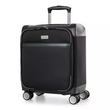 Bugatti Washington Hybrid Underseater Luggage, Black, 18 CARRYON