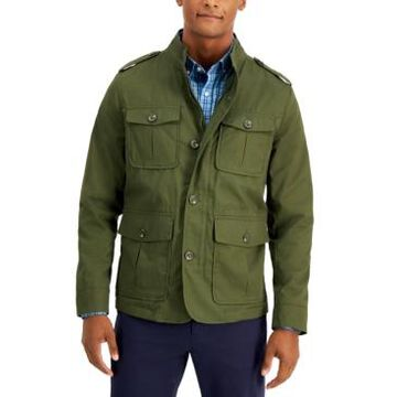 Club Room Men's Four-Pocket Utility Jacket, Created for Macy's