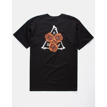 Bones N Roses TT Black Mens T-Shirt