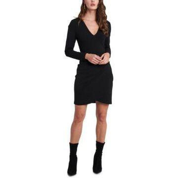 1.state Wrap-Hem Dress