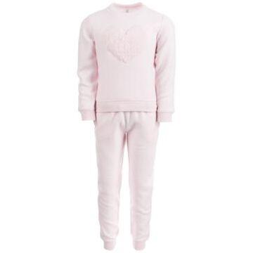 Ideology Toddler Girls Fleece Top & Pants Set, Created for Macy's
