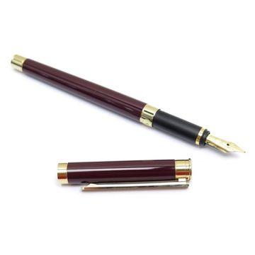 Vintage Montblanc Burgundy Steel Home decor