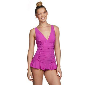 Profile by Gottex Tutti Frutti V Neck Swim Dress