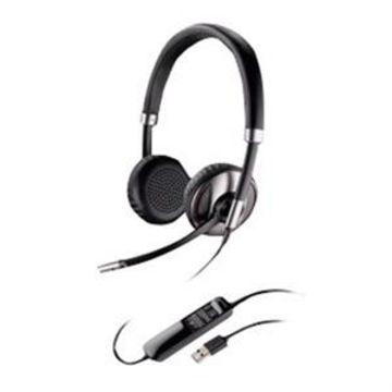 Plantronics Blackwire C720-M - 700 Series - headset - on-ear - wireless - Bluetooth - USB - for Microsoft Lync