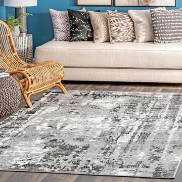 nuLOOM Strained Abstract Area Rug