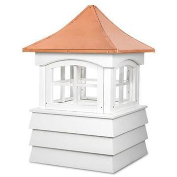 Good Directions Guilford 84-Inch x 121-Inch Cupola in White