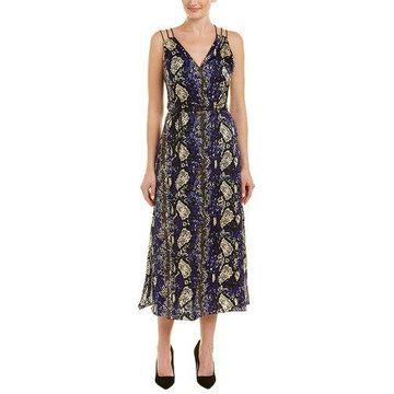 Karen Millen Womens Silk Maxi Dress