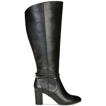 Alfani Womens Giliann Almond Toe Knee High Fashion Boots