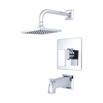 Single Handle Tub and Shower Trim Set-4MO100T