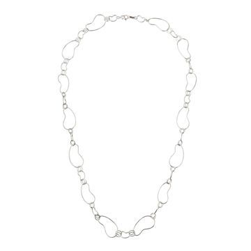Classico Alternating Large & Small Kidney-Link Necklace