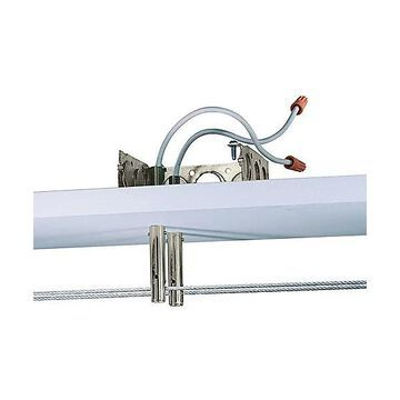 Kable Lite Power Feed Standoffs by Tech Lighting - Color: Satin Nickel - Finish: Satin Nickel - (700KPFSO12S)