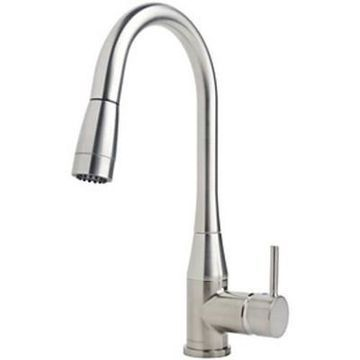Symmons S-2302-PD Sereno 2.2 GPM Single Hole Pull-Down Kitchen Faucet