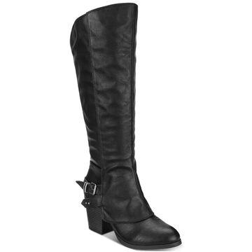 American Rag Womens Emilee Almond Toe Knee High Riding Boots