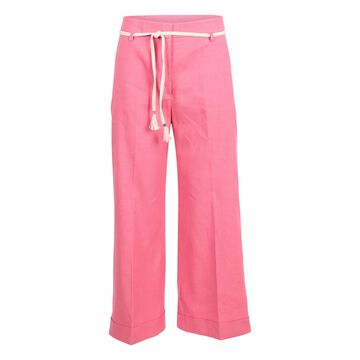 True Royal Linen Trousers
