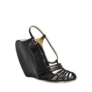 Lanvin Women's Wedge Banana Heels