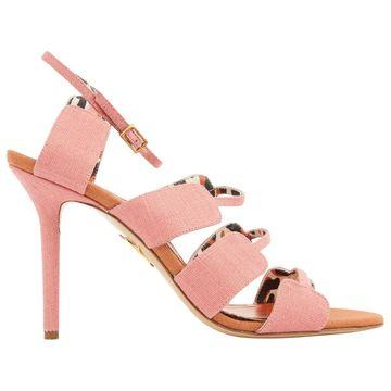 Charlotte Olympia Pink Cloth Heels