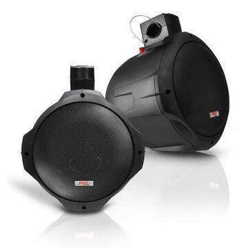 PYLE PLMRB65 - Dual Marine Wakeboard Water Resistant Speakers, 6.5-Inch 200 Watt Tower Speakers, Black