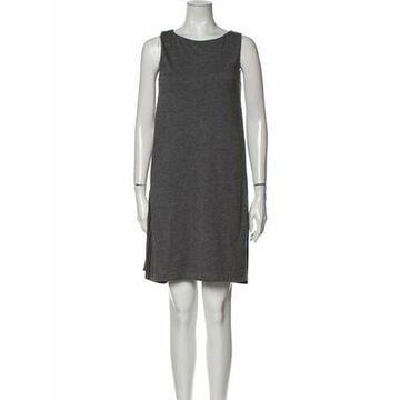 Scoop Neck Mini Dress w/ Tags Grey
