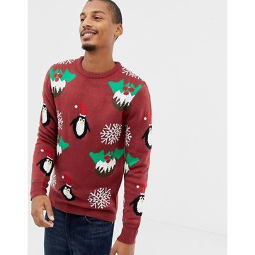Another Influence Holidays Pudding Sweater