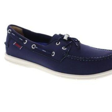 Sebago Litesides Ariapren Blue Mens Casual Boat Shoes