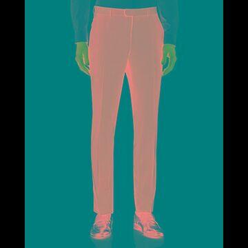 Z Zegna Flat Front Slim Pants