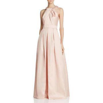 Eliza J Womens Sleeveless Full-Length Evening Dress