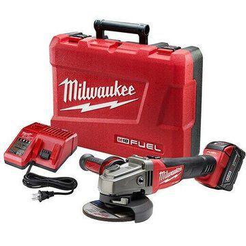 Milwaukee M18 FUEL 4-1/2 in.-5 in. Slide Switch Grinder 2781-21 New