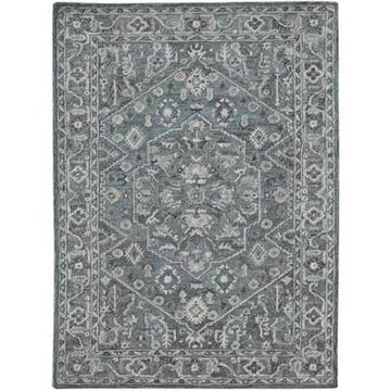 Amer Rugs Veatricia Delilah 5' X 7'6 Area Rug In Blue