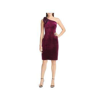 Eliza J Womens Sheath Dress Velvet Cocktail
