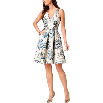 Xscape Womens Cocktail Dress Fit & Flare Party