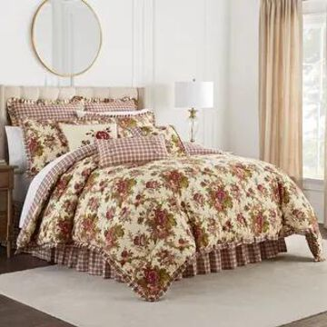 Waverly Norfolk Queen 4pc Comforter Set