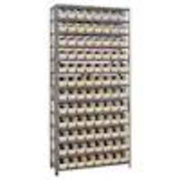 Quantum Storage Systems 12-in D x 36-in W x 75-in H 13-Tier Steel Freestanding Shelving Unit (NSF Certified)