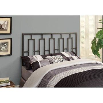 Monarch Bed Queen Or Full Size / Black Head Or Footboard